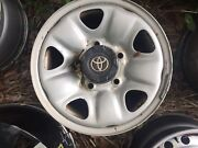 "16"" Toyota landcruiser 100 200 series 5 150 single spare wheel rim  Waterford Logan Area Preview"