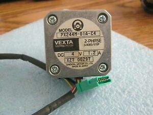 Vexta Px244m 01a C4 2 Phase Stepping Motor 4v Dc 1 2a 0 90