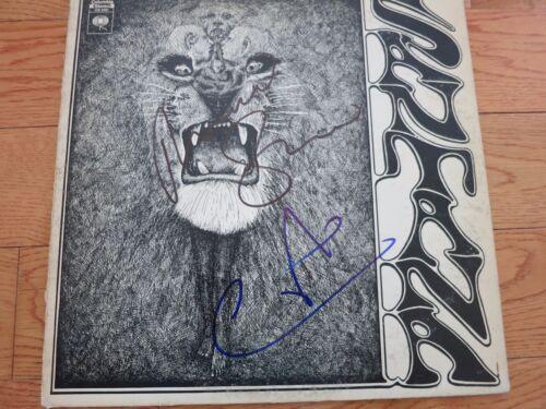 Carlos Santana Signed Lp In Person + Coa Proof! Michael Shrieve Autographed