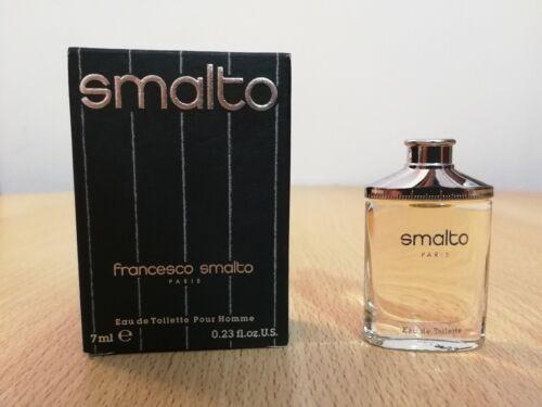 Smalto+Francesco+Vintage+Eau+De+Toilette+7ml+Miniature+Pour+homme+For+Him