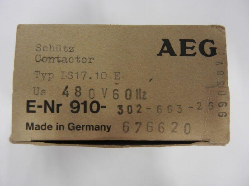 AEG: 302-663-26;676620 - Contactor, 3-phase, 600VAC 30A, 1 N.O. AUX,