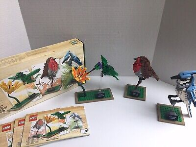LEGO Ideas: Birds 21301 USED 100% Complete With Instructions & Box