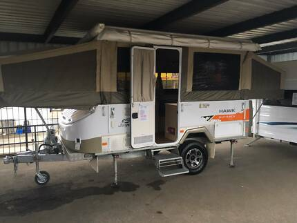 Jayco Hawk Outback camper, With extras .