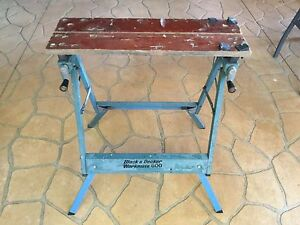 BLACK AND DECKER WORKMATE 600 BENCH Nerang Gold Coast West Preview