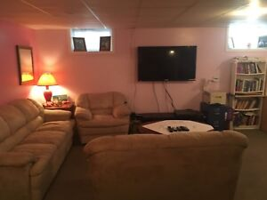Bachelor Basement Suite fully furnished Available Now