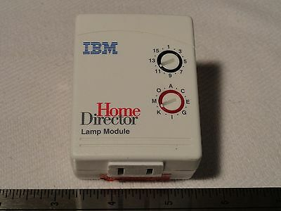 IBM Home Director Lamp Module Switch for X10 X-10 HD465 75H8383 white