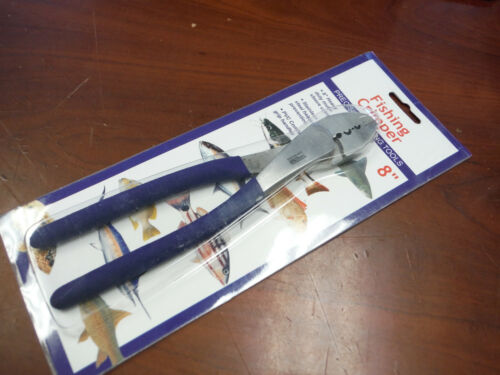 """Heavy Duty 8"""" Stainless Steel Fishing Crimper Tool Tool Tron 22774 * Brand New *"""
