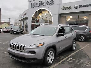 2014 Jeep Cherokee S Sport   HEATED SEATS   UCONNECT  