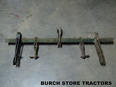 Rare Oliver 440 Or Super 44 3 Point Hitch Toolbar With Cultivator Clamps