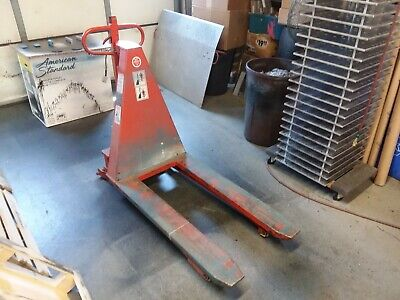 Pallet Jack With Electric Scissors Lift Presto Model Stb27-25