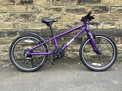 "Frog 52 purple kids bike, good used condition, 20"" wheel"