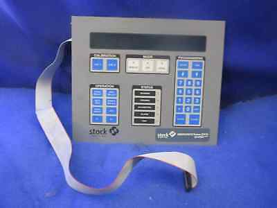 Stock Equipment D28753-4 Operator Interface Control Display Panel Him 1 Year War