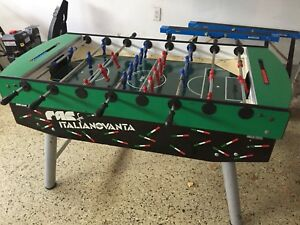 FAS coin operated Foosball table