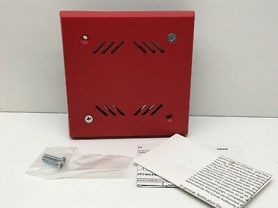 Faraday 6250b-0-14-24-dc Fire Alarm Horn 21-30vdc Red