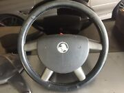 VY leather steering wheel and handbrake cover Pakenham Cardinia Area Preview