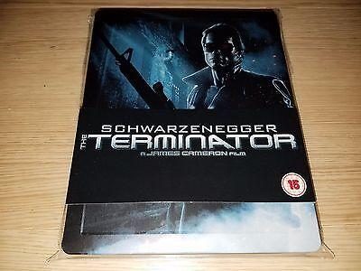 The Terminator Steelbook  Blu Ray Disc  Play Com Region Free Rare Oop
