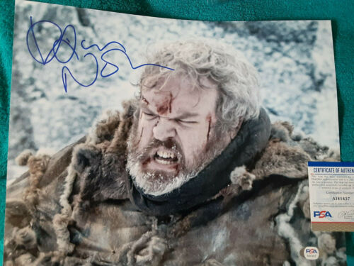 Game of thrones HODOR Kristian Nairn autographed 11x14 photo PSA DNA Certified