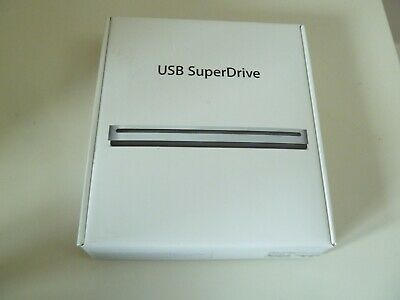 Apple Super Drive CD DVD Writer Burner A1379 Official Genuine USB