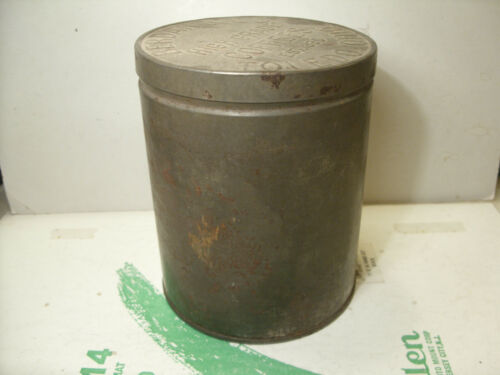 RARE Berdan High Grade Coffee Can Berdan & Co. Toledo Ohio Founded 1836 D1