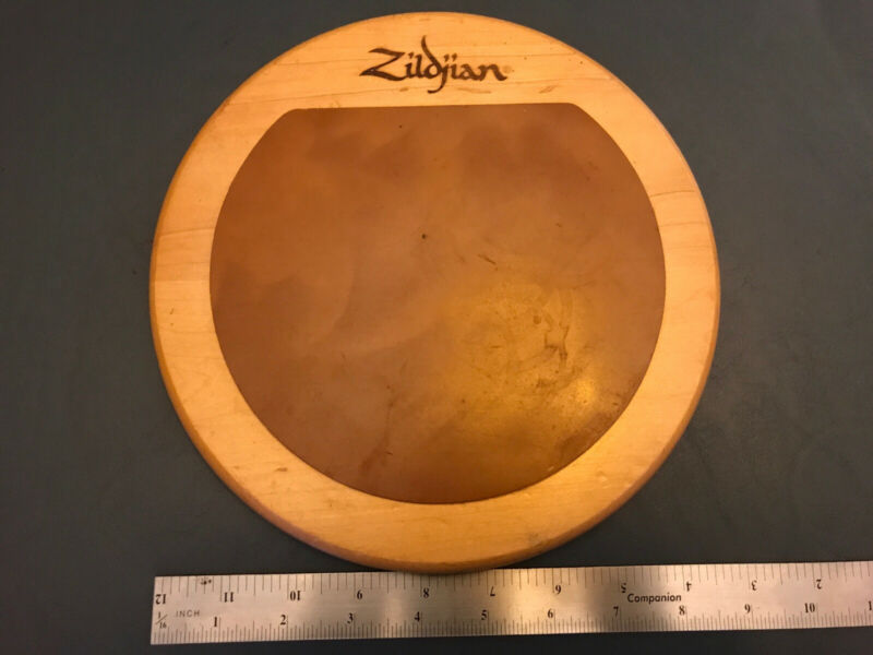 "Vintage Zildjian Drum Practice Pad - 9"" Wood & Rubber - HARD TO FIND!!!"