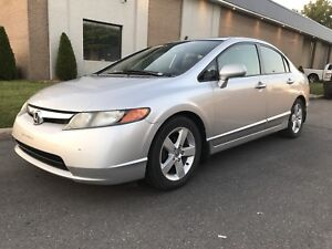 Honda civic 2007  Ex-L Impeccable !