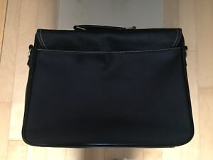 Soft all leather briefcase/ laptop case $50