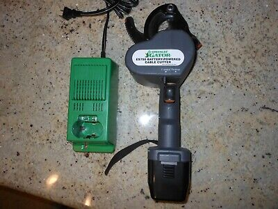 Greenlee Es750 Battery Cable Cutter 12v New Battery