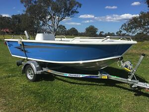Stessco SF 430 Catcher Side console, Painted Hull Bringelly Camden Area Preview