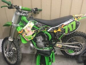 REDUCED 02 kx250 completely rebuilt, trade for dodge Dakota/1500