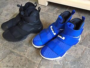 Nike Lebron Soldier 10's