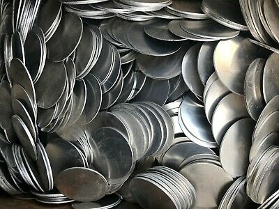 Aluminum Disc 3 Diameter 2mm .081 In Thick. Lot Of 100
