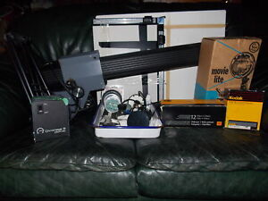 Dark Room Photography Equipment - two boxes.
