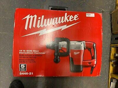 Nip Milwaukee 5446-21 1-34 Sds Max Demolition Hammer