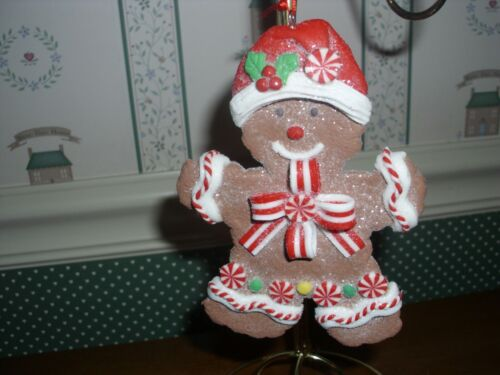 """HOLLY ADLER .5"""" -GINGERBREAD COOKIE GIRL ORNAMENT-2019-NEW"""