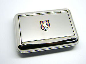 THE-REME-ARMY-BADGE-HARD-METAL-CHROME-PLATED-TOBACCO-TIN-MILITARY-ENGINEERS