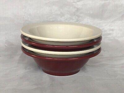 VINTAGE Boontonware Bowls Set of 4 Retro Atomic Ranch Kitchen Housewares