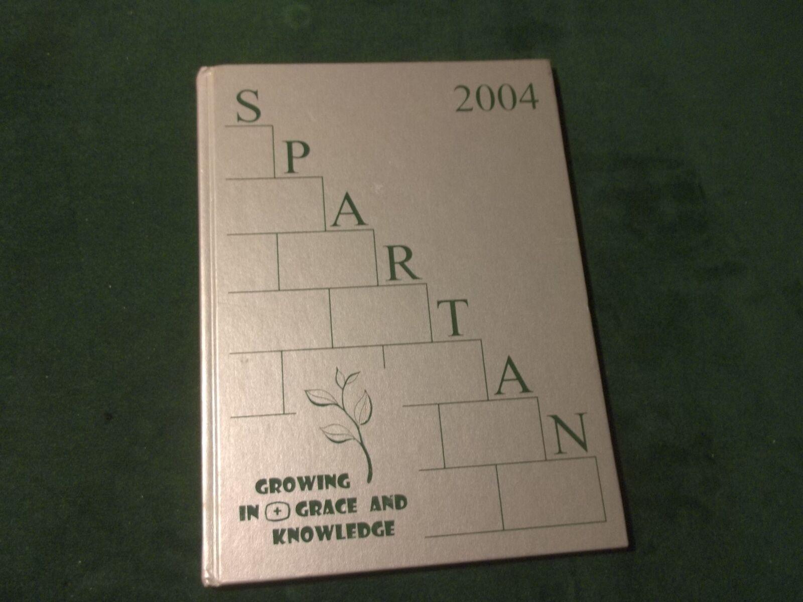 """2003- 2004 """"SPARTAN"""" St Lorenz School Yearbook ~ FRANKENMUTH, MICHIGAN (790)"""