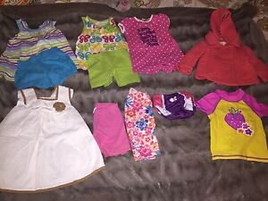 6 to 12 months summer clothes girls