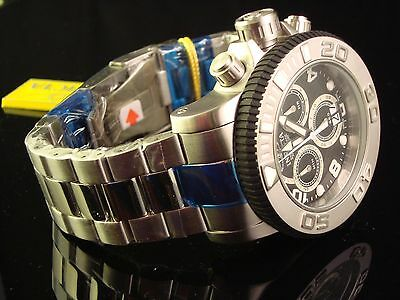 MSRP $1495 NEW MENS INVICTA MASTER OF THE OCEANS SWISS SEA HUNTER S.S. CHRONO