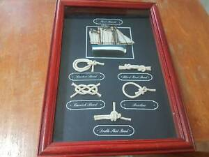 Marine Knot board and yacht