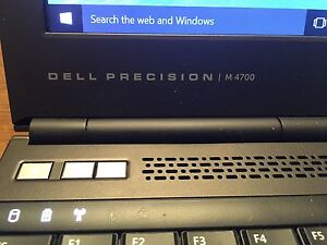 Powerful Dell Precision Notebook Intel Core i7 16GB 1gb video