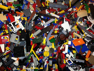 Bulk Legos 1000+ Random Parts Pieces Bricks Clean At Least 2-1/2 Pounds -