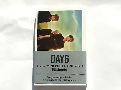Day6 Photo Mini Post Card 56 Sheets KPOP SungJin Jae Young K WonPhil DoWoon