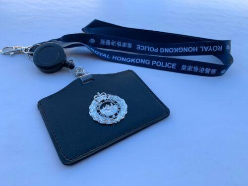 Neckstrap #2B - R. H. K. P.  Neckstrap & horizontal cardholder w/badge