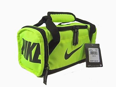 Nike Kid s Insulated Clique Lunch Bag Box Tote Volt 9A2591-369 New a686654ecaed7