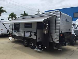 2016 19'6 REGENT DISCOVERER PANTRY SHOWER TOILET LUXURY CARAVAN Gympie Gympie Area Preview