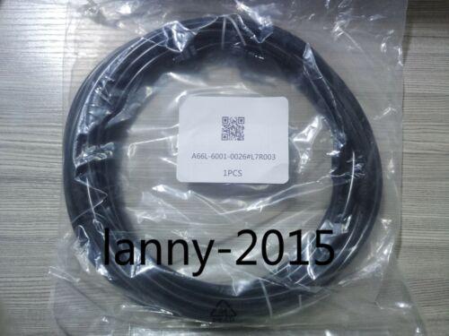 1pc New Fanuc Fiber Optic Cable 7m A66l-6001-0026#l7r003  .