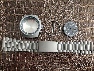 LORSA Chronograph Uhrengehäuse für ETA Valjoux 7750 SWISS MADE Uhrwerk