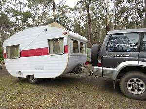 Vintage 10 1/2 foot caravan 1964 Franklin in need of restoration Daylesford Hepburn Area Preview