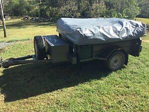 Camel camper trailer, Australian made Cedar Vale Logan Area Preview